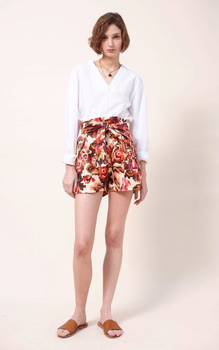 Dol Printed Organic Cotton Shorts