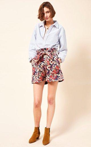 Adam Printed Organic Cotton Shorts