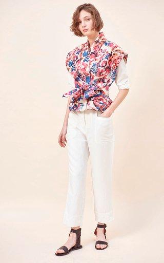 Adi Quilted Organic Cotton Vest