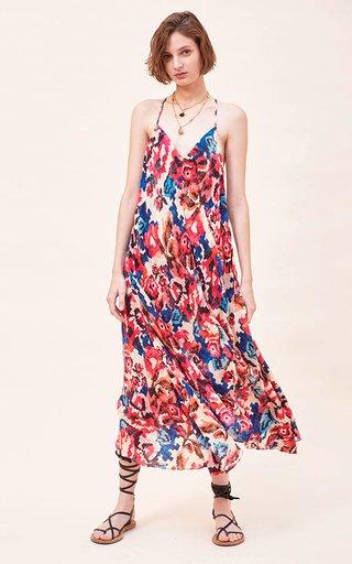 Tyna Printed Silk Dress