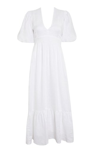 Romilla Romilla Linen Midi Dress