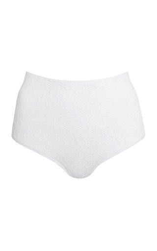 Marina Textured Bikini Bottom