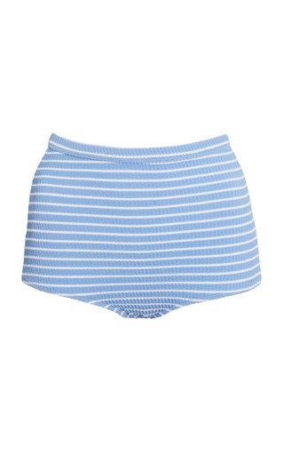 Dylan Vacances Striped Bikini Bottom