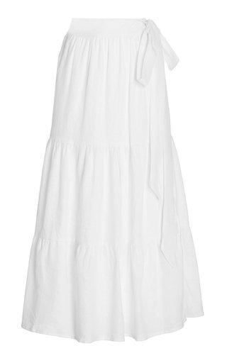 Cavaretta Linen Maxi Skirt