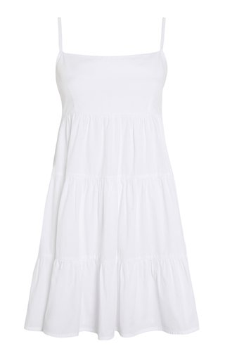 Octavia Cotton Poplin Mini Dress