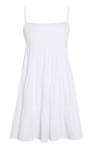 Octavia Cotton Poplin Mini Dress
