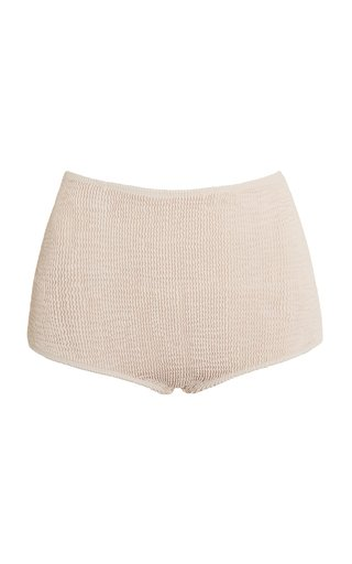 Presley Biscuit Textured Bikini Bottom