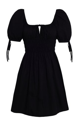 Kanika Cotton Poplin Mini Dress