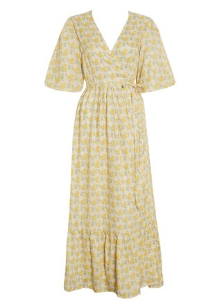 Thulla Wrap Midi Dress