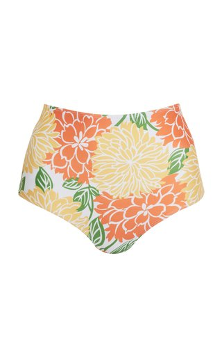 Marina Mariposa Floral Print Bikini Bottom