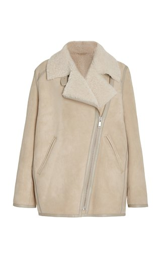 Azario Shearling Coat