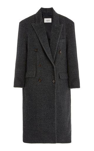 Lojima Double-Breasted Wool-Blend Coat