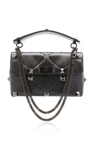 Valentino Garavani Medium Roman Stud Leather Bag