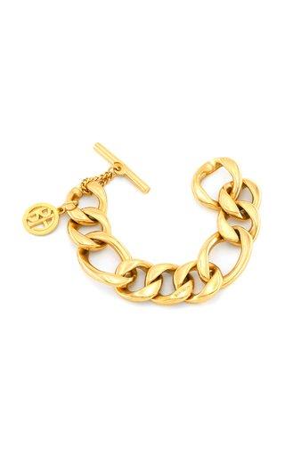 Gold-Tone Metal Chain Bracelet