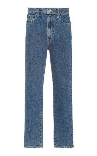 Beatnik Stretch High-Rise Slim-Fit Ankle Jeans