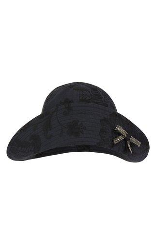 Tonal Cotton Jacquard Bucket Hat
