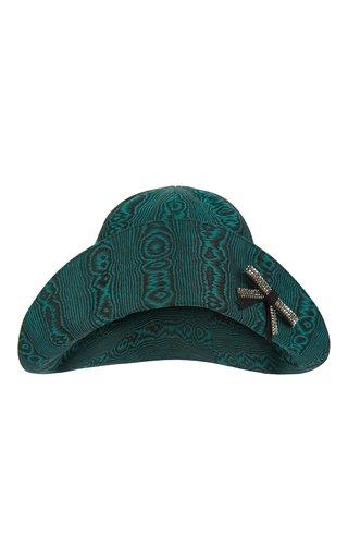 Moire Cotton Jacquard Bucket Hat