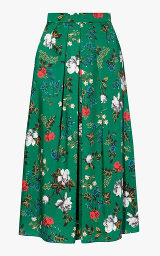 Bernita Floral Pleated Skirt