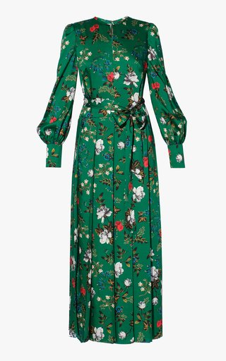 Ludie High Neck Long Sleeve Dress