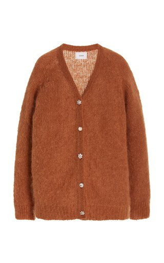 Marcilly Mohair-Blend Cardigan