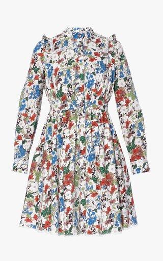 Elayne Cotton Floral Dress