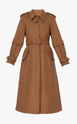 Olan Virgin Wool Coat