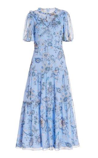 Pearline Silk Dress