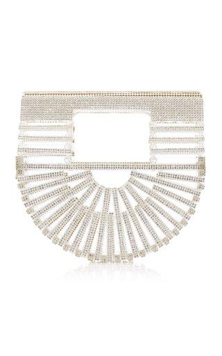 Gaias Ark Nano Crystal-Embellished Top Handle Bag
