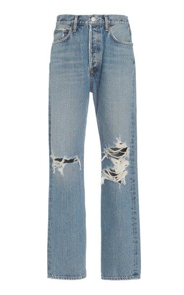 90s Pinch Rigid High-Rise Straight-Leg Jeans