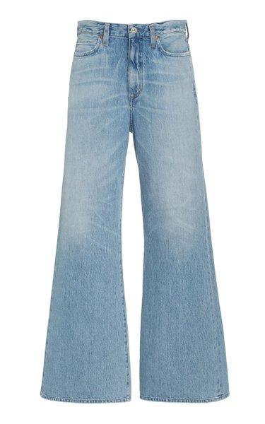 Rosanna Rigid High-Rise Flared-Leg Jeans