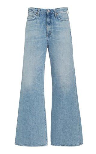 Rosanna Rigid High-Rise Wide-Leg Jeans