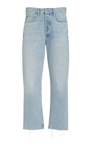 Charlotte Cropped Rigid High-Rise Straight Jeans
