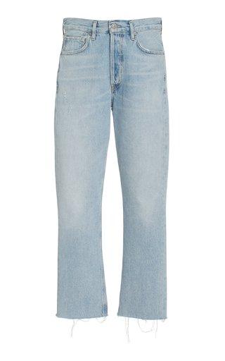 Charlotte Rigid High-Rise Cropped Straight-Leg Jeans