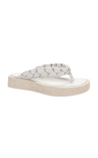 Nita Braided Thong Sandals