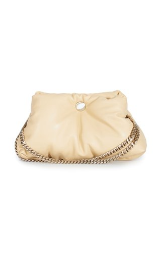 Puffy Chain Leather Tobo Shoulder Bag