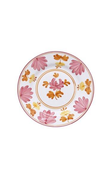 Blossom Hand-Painted Ceramic Fruit Plate