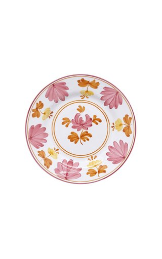 Blossom Hand-Painted Ceramic Fruit Plate