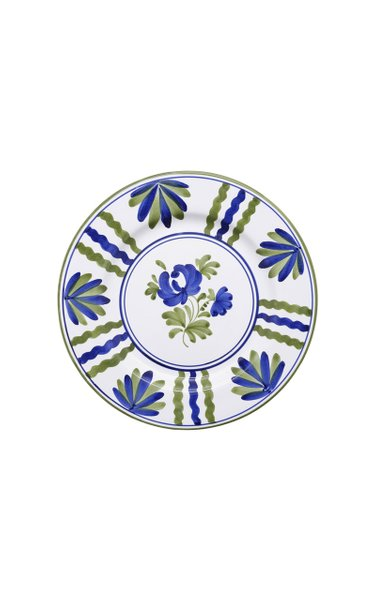 Blossom Hand-Painted Ceramic Dinner Plate