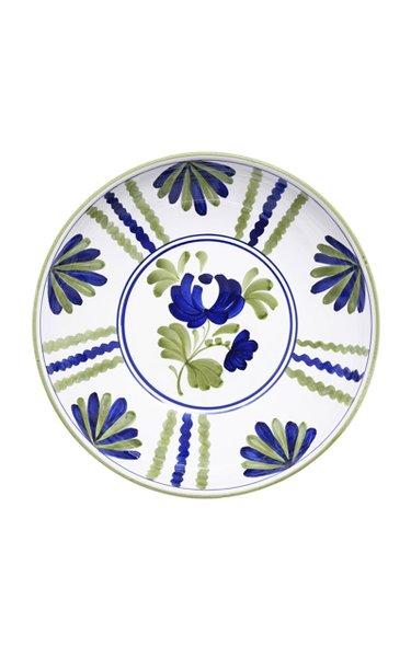 Blossom Hand-Painted Ceramic Salad Bowl