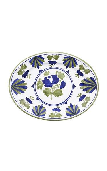 Blossom Hand-Painted Ceramic Platter
