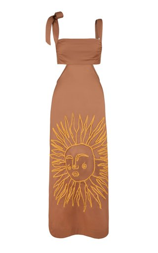 Blind Faith Cotton-Blend Dress