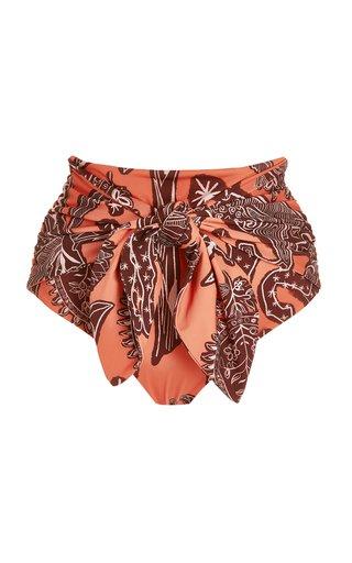 Herencia Printed Bikini Bottom
