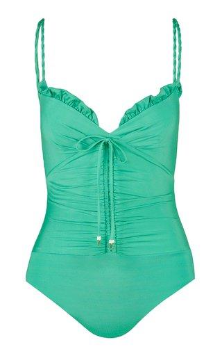 Before Sunshine Ruffled One-Piece Swimsuit