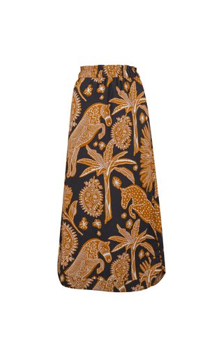 Native Rituals Printed Cotton Skirt