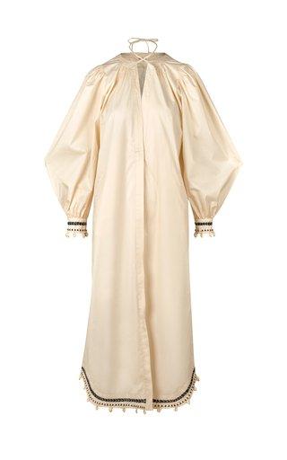 Altas Cumbres Embroidered Cotton-Blend Midi Dress