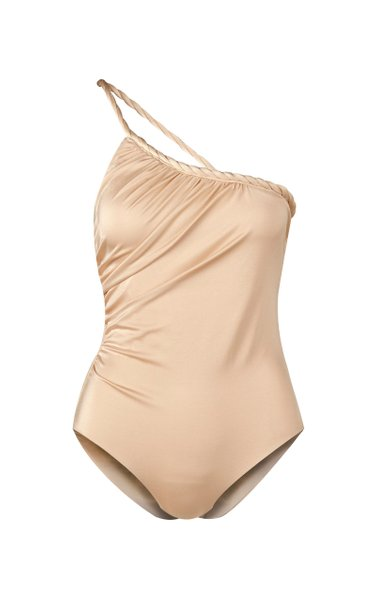 Mar De Plata Asymmetric One-Piece Swimsuit