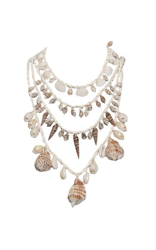 Guitarra Mia Shell Necklace Set