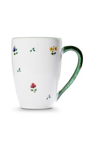 Alpine Flowers, Set Of 6 Breakfast Cup