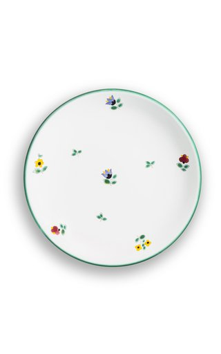 Alpine Flowers, Set Of 6 Dessert Plates