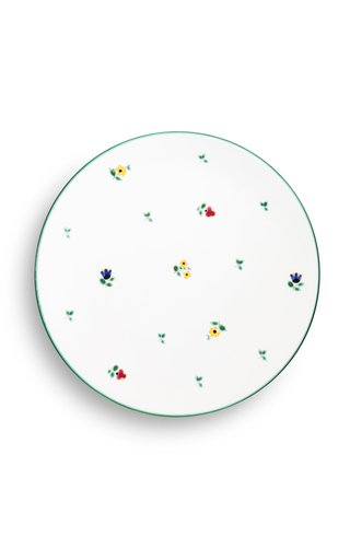 Alpine Flowers, Set Of 6 Dinner Plates